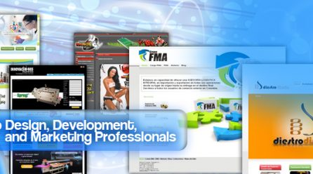 Web Design, Developement and Marketing Professionals